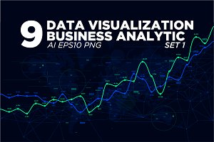 9 Data visualization background