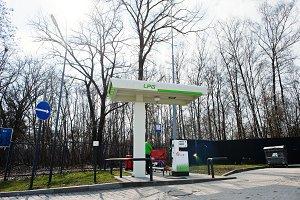 LPG Gas station at OKKO