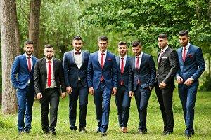 Eigth stylish arabic businessman man