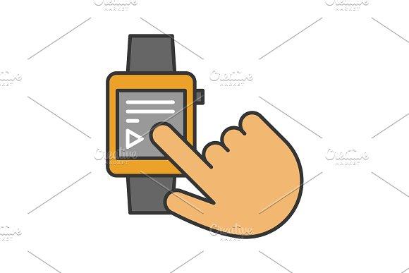 Smartwatch Color Icon