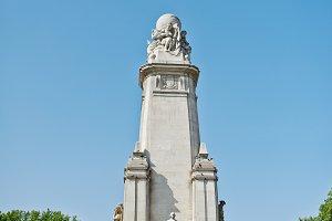 Monument to Miguel de Cervantes