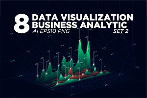 8 Data visualization background