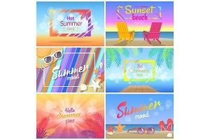 Hot Summer Days 2018 Sunset Beach Party Summertime