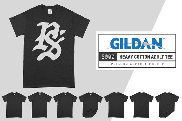 Free Gildan 5000 Heavy Cotton Adult Tee