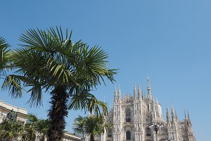Duomo (meaning Cathedral) in Milan