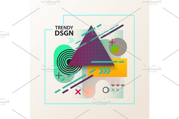 Geometric Modern And Abstract Cover Design