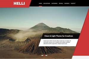 Helli Onepage Template