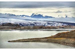 Fjallsarlon Glacier Lagoon in Iceland