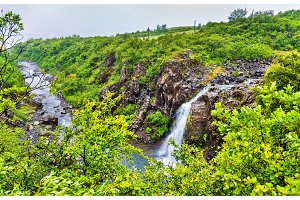 Magnusarfoss waterfall in Skaftafell National Park - Iceland