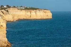 Summer Atlantic coast, Portugal.