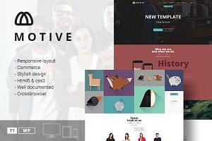 Motive - Portfolio & Blog Theme