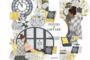 Loft Life Clipart