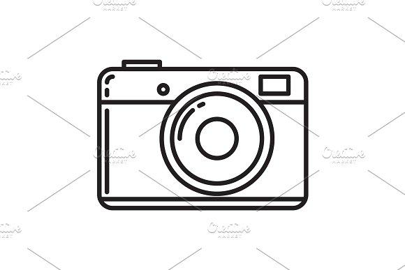 Camera Icon Photo Camera Vector