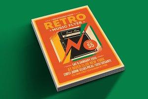 Retro Music Flyer Amplifier