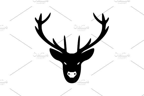 Deer Head Icon
