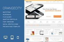 OrangeCity Responsive Template