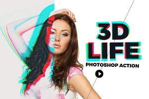 3D Life - Photoshop Action