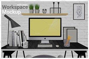 iMac Mockup Screen