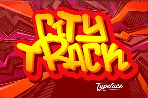 City Track Typeface
