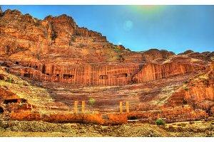 Ancient Roman Theatre in Petra