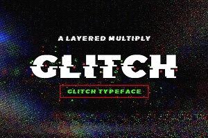 Glitch Typeface