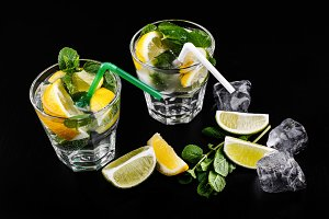 Mojito refreshing non alcohol