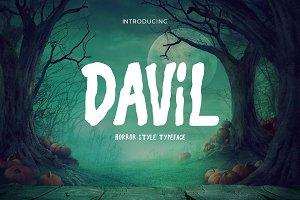 Davil Typeface