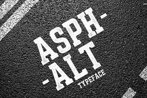 Asphalt Typeface
