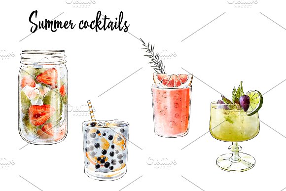Summer Cocktails Collection