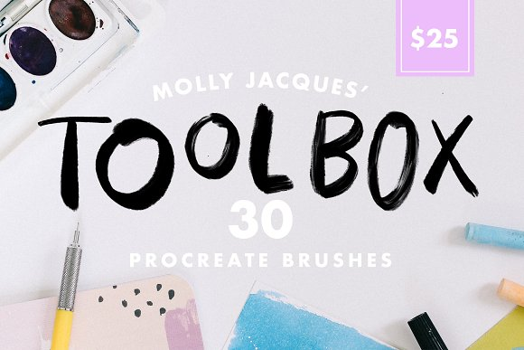 Molly's Toolbox Procreate Brushes