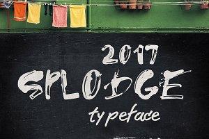 Splodge Typeface