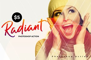 Radiant Photoshop Action
