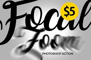 Focal Zoom Photoshop Action 2