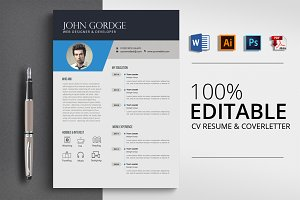 Job CV Resume Word