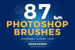 87 Photoshop Brushes