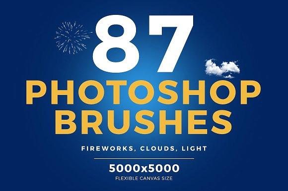 87 Photoshop Brushes