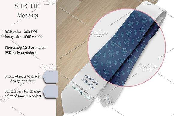Silk Tie Mockup Product Mockup