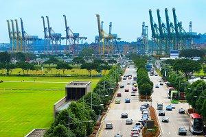 industrial port Singapore