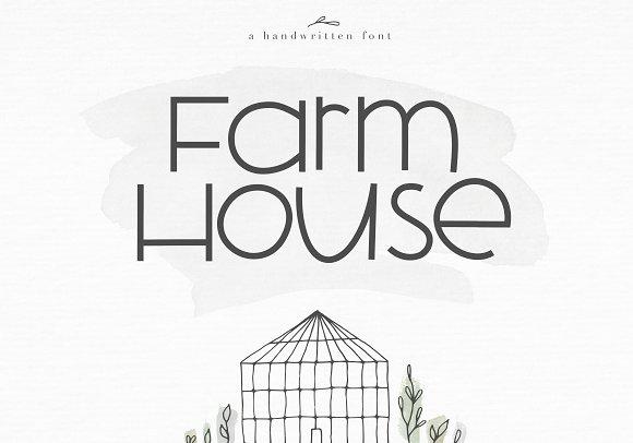 Farmhouse A Bold Handwritten Font