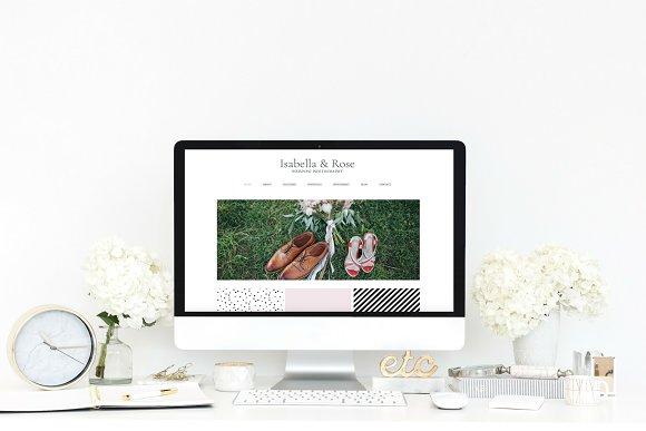 Wix Website Template Wedding