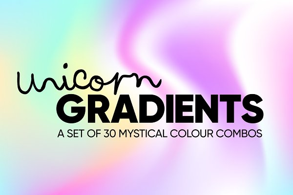 Photoshop Gradients: Mr Dodd - Unicorn Gradients