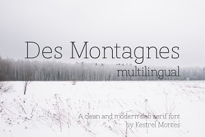 Des Montagnes - multilingual