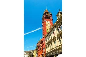 Rathaus, Basel Town Hall - Switzerland