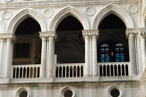 Doge's Palace Archways, San Marco
