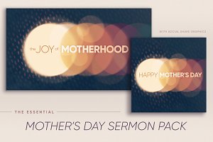 Mother's Day/Parenting Series Pack