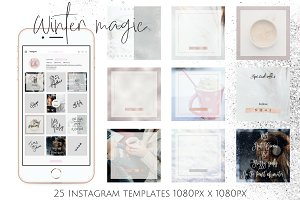 Instagram winter bundle