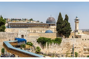 View of the Al-Aqsa Mosque in Jerusalem