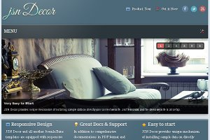JSN Decor - Joomla Decoration Theme