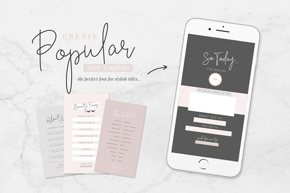 Beauty Notes Script + Illustrations in Script Fonts - product preview 7