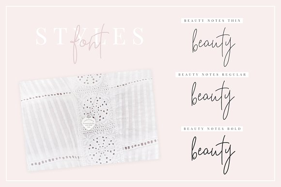 Beauty Notes Script + Illustrations in Script Fonts - product preview 10